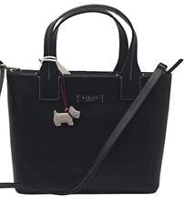 Bnwt Radley farningham black colour leather medium multi-way bag new