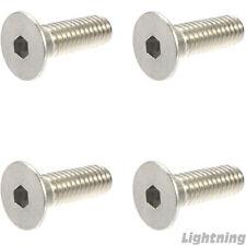 Metric Flat Head Socket Cap Screw A4 Stainless Steel M3 x 0.5 x 50mm Qty 25