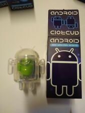 Android Mini Collectible Figure: Series 03 - Clear With Keychain by Google
