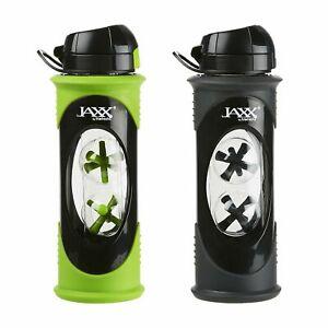 Fit & Fresh 786Ffgrngrykit Green Jaxx Glass Shaker Bottle Set