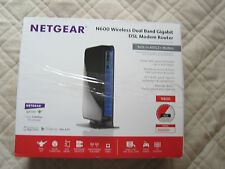 Netgear N600 Wireless Dual Band Gigabit DSL Modem Router Model DGND3700 ADSL2+