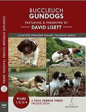 David Lisett Gundog Training DVDs- Complete Springer Spaniel Series - Boxed Set