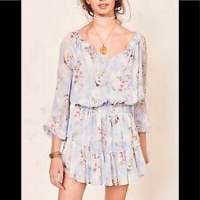 New LoveShackFancy Popover Dress in Water Petals Size Large