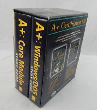 1998 A+ Windows / DOS Certification Kit Core Module w/ Discs David Groth