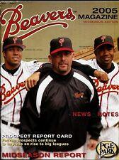 2005 PORTLAND BEAVERS PCL  PROGRAM-YEARBOOK vs TUCSON SIDEWINDERS-06/12/05