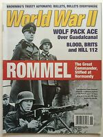 ROMMEL June 2006 WORLD WAR II Magazine GUADALCANAL / BLOOD BRITS & HILL 112