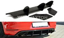 VW Golf MK6 6 GTI Low Rear Bumper Diffuser Spoiler Lip Valance Splitter in Melb
