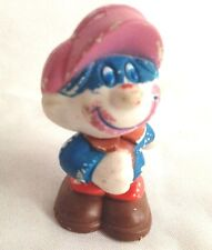 """Vintage 2"""" Mego Corp 1981 Pvc Circus Clown Bandit with Mask Figurine"""