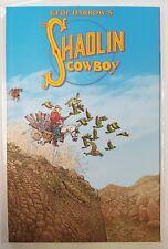 geof darrow's the shaolin cowboy burlyman tpb first printing oop