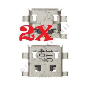 2X Motorola Moto E XT830C XT1025 XT1022 USB Charger Charging Port Dock Connector