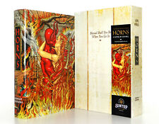 Joe Hill HORNS SIGNED 2x SUNTUP Limited Artist Gift Edition Slipcased Hardcover