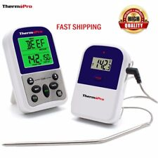 ThermoPro TP11 Wireless Digital Meat Thermometer Cooking Food With Probe For BBQ