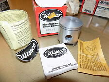 "1978 1979 1980 1981 Kawasaki KX125_Wiseco Piston Kit_56.50mm_.50mm/.02"" os_438p2"