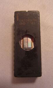 Vintage Intel 1983 D27512 U822016MS 28-Pin 7802330TBD Ic Processor Chip
