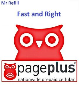 PagePlus $39.95/Month Refill, Unlimited,5.0 GB 4G LTE, fast & right