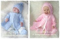 HONEYDROPDESIGNS * CHARLIE'S BIG BROTHER * PAPER KNITTING PATTERN * 0-6 MONTHS