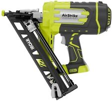 Ryobi Angled Nailer Cordless Air Nail Gun Finish Trim 18V 15-Gauge (Tool-Only)