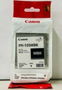 New Genuine Canon PFI-105 Matte Black Ink Tank imagePROGRAF iPF6300