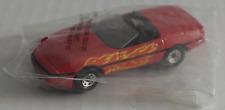 """Matchbox Flame Rods - 1987 Corvette Cabrio rot mit Flammen """"Kellogg´s"""" Neu/OVP"""
