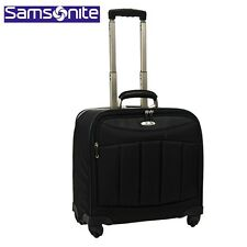 "SAMSONITE SILHOUETTE 10 CARRY-ON SPINNER TOTE BAG CASE FITS 15.4"" LAPTOP  NEW!"