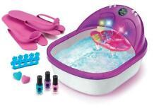 New ListingCra-Z-Art 6 in 1 Spa Salon Foot Bath Kit Nail Polish Feet Massage Pedicure Care