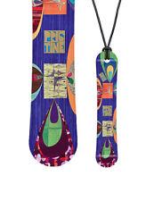 Miniboard NEW SIMS Pristine 2013  Snowboard als Halskette Geschenk - MBX_06