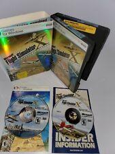 Microsoft Flight Simulator X Deluxe Edition Games For Windows - W/ Manuals & Key