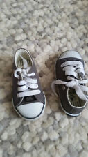 Dunlop navy blue and white trainers size C4 UK 8 infant