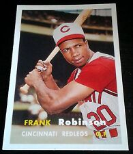FRANK ROBINSON 2006 Topps Rookie Card RC Lot of 5 1957 Reprint 2 WS Rings HOF