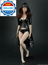"""1/6 Sexy Leather Windbreaker Set For 12"""" Hot Toys PHICEN Female Figure ❶USA❶"""