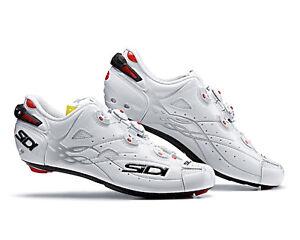 SIDI SHOT Road Cycling Shoes - White/White [Size: 40~47 EUR]