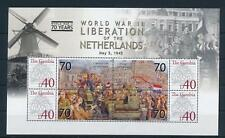[81143] Gambia 2008 Second World war Liberation of Netherlands Sheet MNH