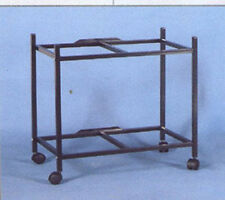 "2 Tier Stand For 30"" x 18"" x 18"" Aviary Bird Cage Black - T811 - 641"