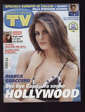 SORRISI 23/2008 GUACCERO INTER SEX AND THE CITY JESSICA PARKER VASCO ROSSI HEIDI