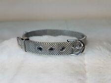 KEEP Collective Mesh Bracelet Silver