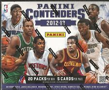 2012-13 Panini Contenders Basketball Factory Sealed 12 Box Hobby Case - 48 Autos