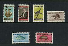 Colombia 1960 #713-5, C357-9  von Humboldt fish fauna monkey  6v.  MNH L688