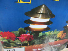 10 PIECE Brinkmann Malibu Landscape Lighting Black Tier Low Voltage Wired