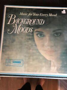 Background Moods Vinyl LP Album Record