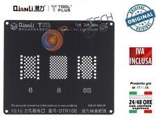 Reballing Stencil Hard Disk Logic Module NAND BGA per IPHONE 6 / 6S