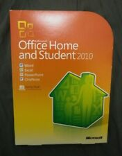 Genuine Microsoft Office 2010 Home & Student Family Pack for 3 PCs   Boxed Disc