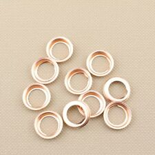 10 Oil Drain Plugs Crush Washers Gaskets Stone 1102601M02 For: Nissan Infiniti