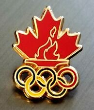 TEAM CANADA NOC COC OLYMPIC  PIN