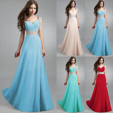 Long Formal Evening Prom Party Bridesmaid Dresses Ball Gown Cocktail SunDress