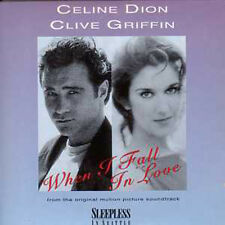 CD Single Céline DION & Clive GRIFFIN When I fall in love 2-TRACK CARD SLEEVE