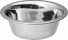 Standard Dog Bowl 3 Cup Capacity Use for Water or Feeding Stainless Steel