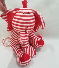 """JellyCat Bunny Pull Musical Suave Juguete de Felpa Juguete De Elefante skiddadel 10"""" Lullaby."""