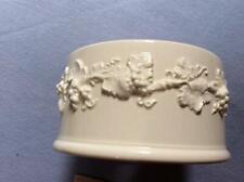 Wedgwood embossed Queensware cream on cream lamp base