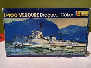 Vintage Heller 1/400 Mercure French minesweeper #1