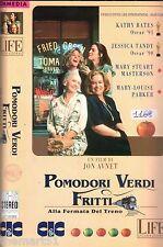 Pomodori Verdi Fritti alla fermata del Treno (1993) VHS CIC  Jon Avnet